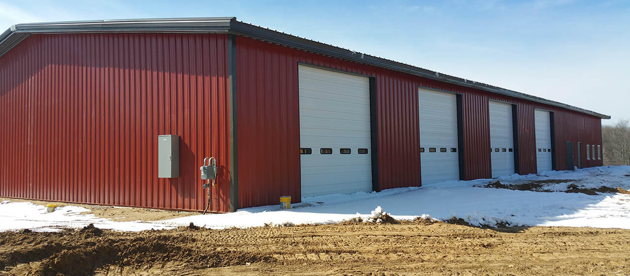 Traverse City Steel Building Contractor, Steel Roofing and Steel Siding